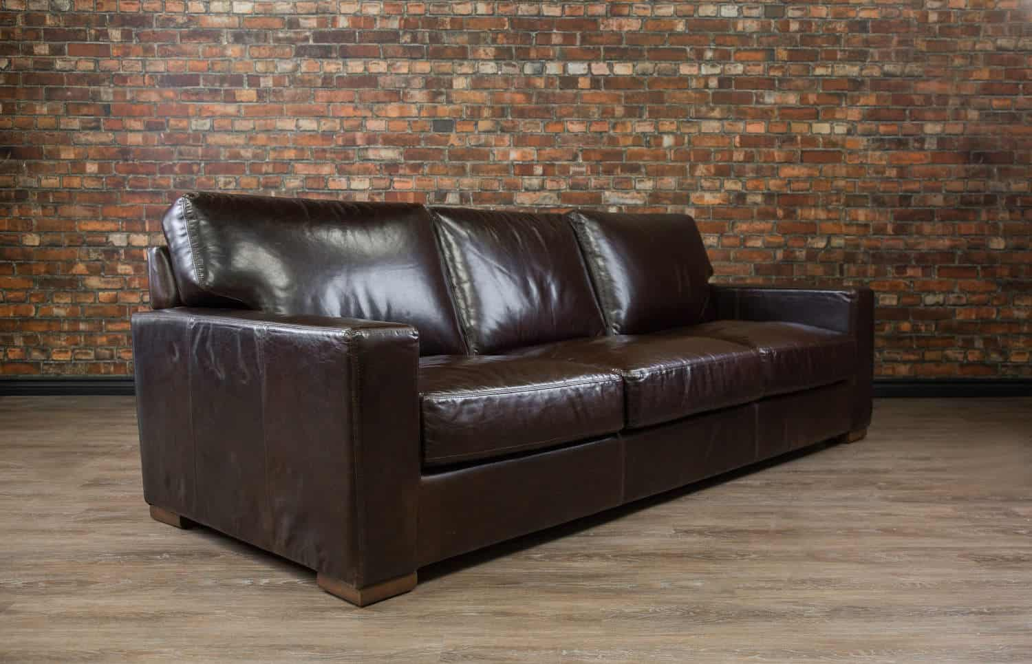 Maxell 3 Seat Leather Sofa Canada S Boss Leather Sofas