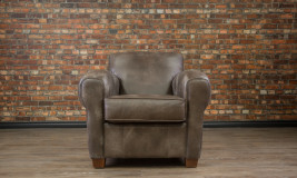 Leather chair bachelor chair