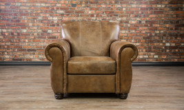 Leather Chair Canyon Chai