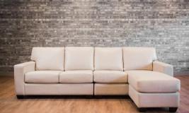 leather sofa mesa