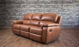 leather recliner lazio