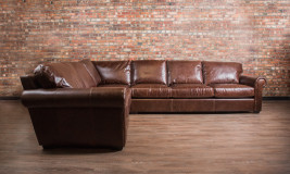 leather sectional winchester sectional