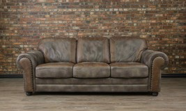 the old west leather sofa