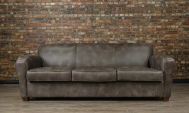 leather sofa bachelor