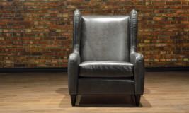 hemingway leather chair