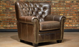 leather chair winston churchill