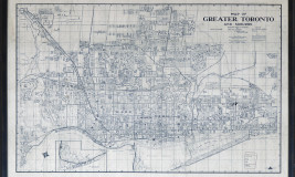 MAP - GREATER TORONTO - 1916