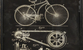 BICYCLE PATENT 1890