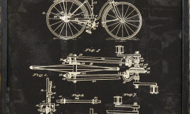 BICYCLE PATENT 1893
