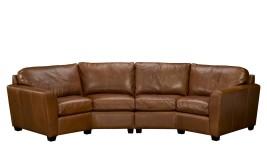 Bolton II leather sofa