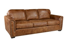 new mexico leather sofa