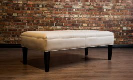 condo leather coffee table