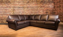 Bella Leather Sectional