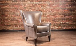 isabella leather chair