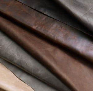 genuine leather swatches